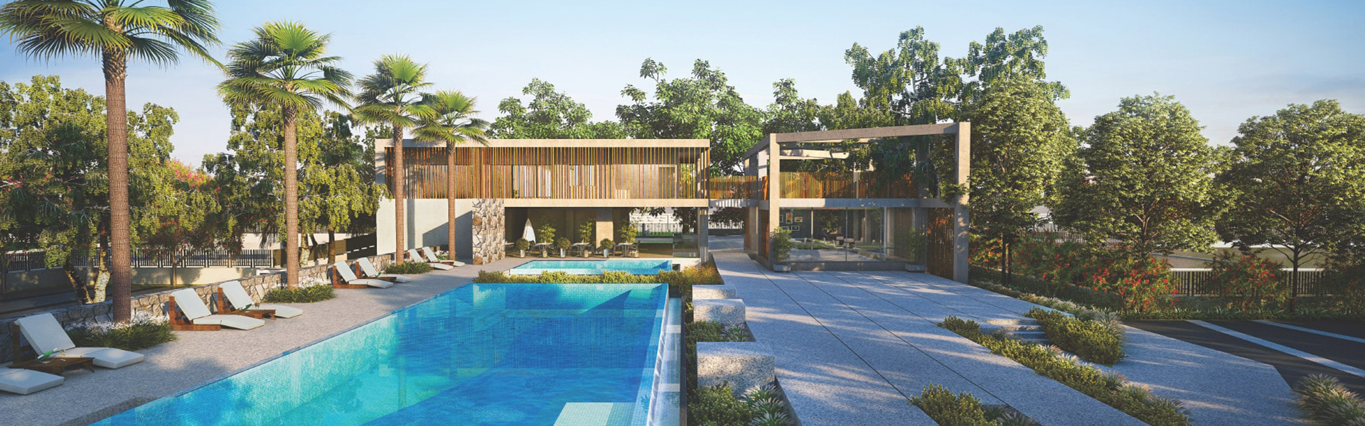 Villa Plot With Swimming Pool