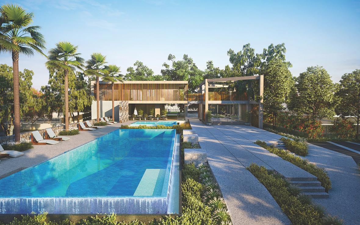 Villa Plot With Swimming Pool