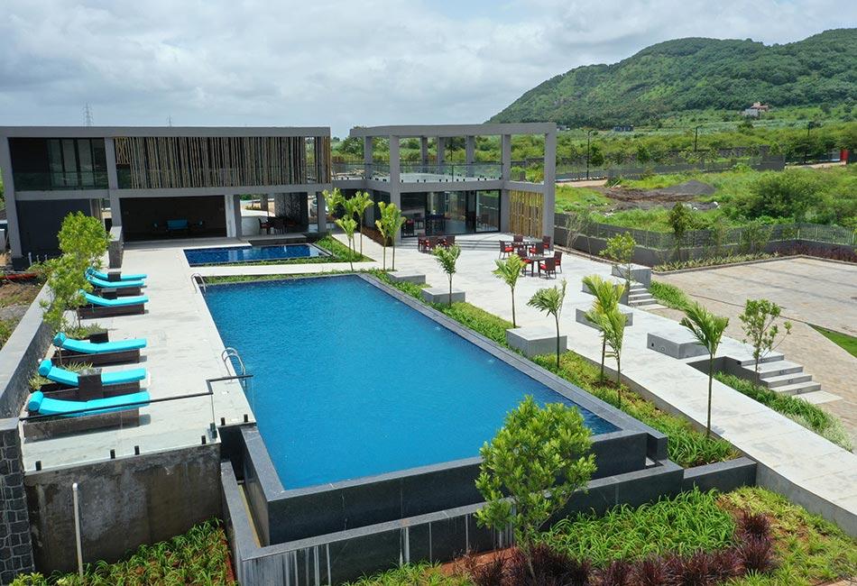 A 46banyantree villa with a swimming pool
